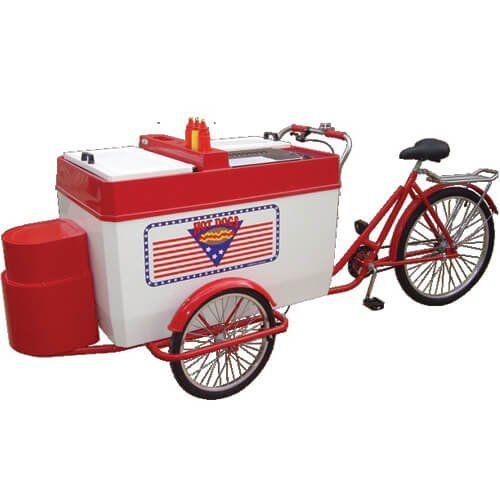 Triciclo para Hot Dog TRI-GHL - Warm  - ZIP Automação