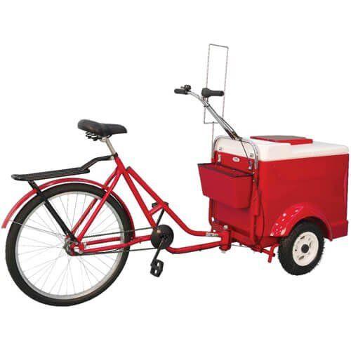 Triciclo para Sorvete TRI-WCS - Warm  - ZIP Automação