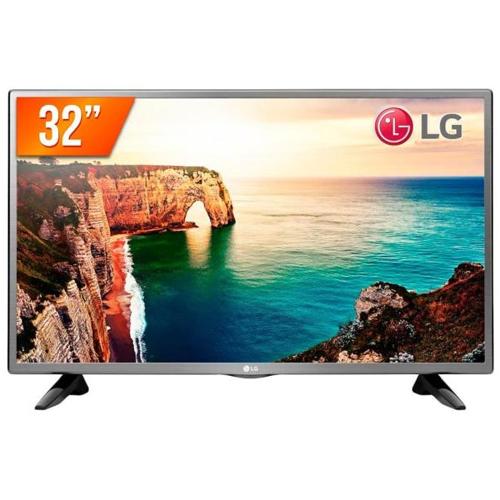 TV LED 32 pol. Modo Hotel LG 32LT330HBSB  - ZIP Automação