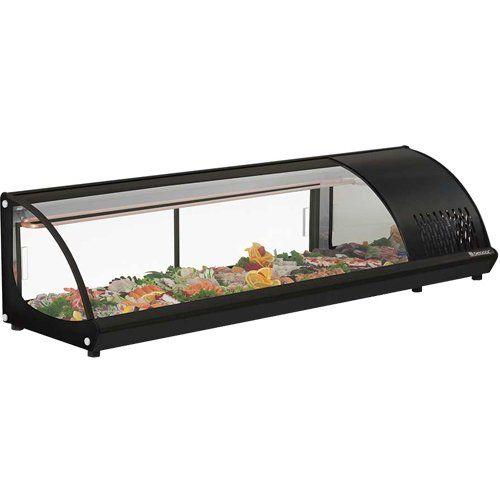 Vitrine Refrigerada Bancada 1,6m GVRB-160 PR - Gelopar  - ZIP Automação