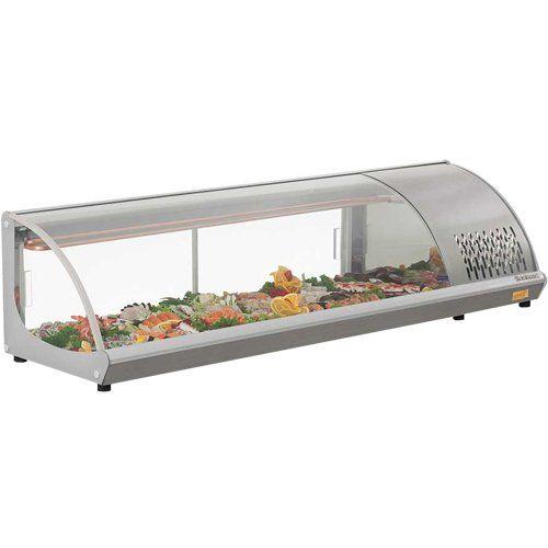 Vitrine Refrigerada de Bancada 1,60m GVRT-160 c/ Termostato - Gelopar  - ZIP Automação