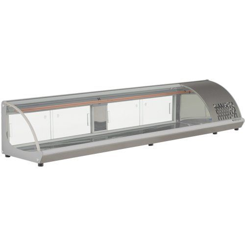 Vitrine Refrigerada Bancada 2,1m GVRB-210 TI - Gelopar  - ZIP Automação