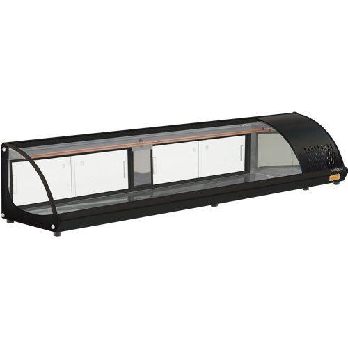 Vitrine Refrigerada de Bancada 2,10m GVRT-210 PR c/ Termostato - Gelopar  - ZIP Automação