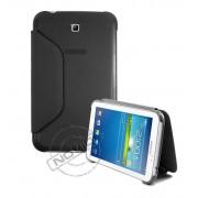 Capa Book Estojo para Samsung Galaxy Tab 3 7.0 - Cor Preta