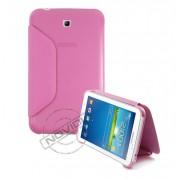 Capa Book Estojo para Samsung Galaxy Tab 3 7.0 - Cor Rosa