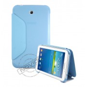 Capa Book Estojo para Samsung Galaxy Tab 3 7.0 - Cor Azul