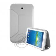 Capa Book Estojo para Samsung Galaxy Tab 3 7.0 - Cor Cinza