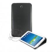 Capa Dobrável c/ Suporte para Samsung Galaxy Tab 3 7.0 - Cor Preta