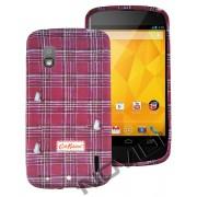 Capa Personalizada Cath Kidston para LG Nexus 4 E960 - Modelo 1