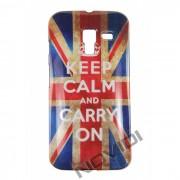 Capa Personalizada Bandeira Envelhecida UK Keep Calm para Motorola Moto X