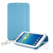 Capa Dobrável c/ Suporte para Samsung Galaxy Tab 3 7.0 - Cor Azul