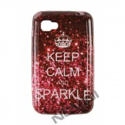 Capa Personalizada Keep Calm and Sparkle para LG Optimus L4 II E455 #sohoje