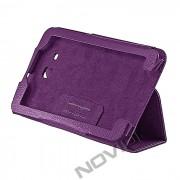 Capa Smart Cover dobravél Samsung Galaxy Tab 3 Lite T110 / T111 - Cor Roxa