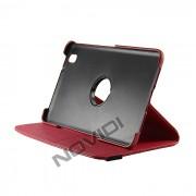Capa para Tablet Personalizada Giratoria Samsung Galaxy TabPro 8.4 T320 - Cor Vermelha