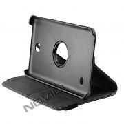 Capa para Tablet Personalizada Giratoria Samsung Galaxy Tab 4 7.0 T230 - Cor Preta