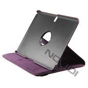 Capa para Tablet Personalizada Giratoria Samsung Galaxy Tab Pro 10.1 T520 - Cor Roxa