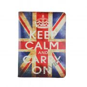 Capa para Tablet Bandeira UK Keep Calm and Carry On Samsung Galaxy Tab Pro 10.1 T520