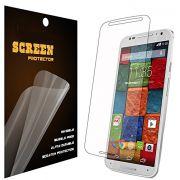 Kit com 2 Películas protetora transparente para Motorola novo Moto X 2ª Geração