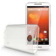 Kit Capa de TPU Premium + Película Transparente para Motorola Moto X 2ª Geração - Cor Transparente