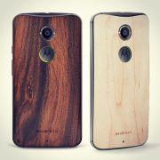 Sticker Skin de madeira para para Motorola Moto X 2ª Geração