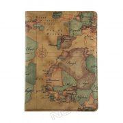 Capa para Tablet com Ilustração Mapa Antigo para Apple iPad Air - Modelo 4