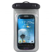 Bolsa Estanque à Prova D'água para Smartphones - Cor Transparente