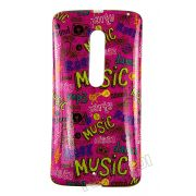 Capa Personalizada Music para Motorola Moto X Play XT1563