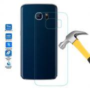 Película de Vidro Temperado Premium Traseira para Galaxy S6 Edge