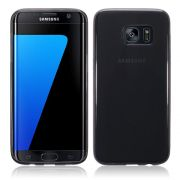 Capa de TPU para Samsung Galaxy S7 Edge - Cor Grafite