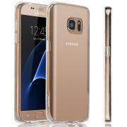 Capa de TPU para Samsung Galaxy S7 - Cor Transparente