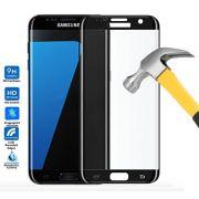 Película de Vidro Temperado Premium curvada com Borda para Samsung Galaxy S7 Edge - Cor Preta