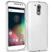 Capa de TPU para Motorola Moto G4 Plus - Translúcida