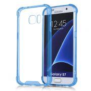 Capa Fusion Shell Anti-Impacto para Galaxy S7 Edge - Cor Azul