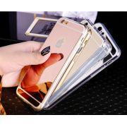 Capa de Silicone Ultrafina Espelhada para iPhone 6 Plus