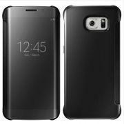 Capa Protetora Clear View Galaxy S7 Edge - Cor Preta