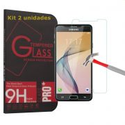 Kit 2 Películas de Vidro Temperado Premium para Samsung Galaxy J7 Prime - SuperShield