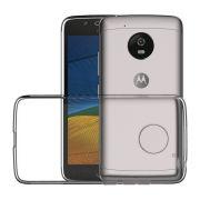 Capa Anti Impacto para Motorola Moto G5 - Cor transparente