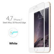 Película de vidro Premium com bordas 3D para Apple iPhone 7 (4.7) - Transparente