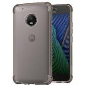 Capa Fusion Shell Anti-Impacto para Motorola Moto G5 Plus - Cor grafite