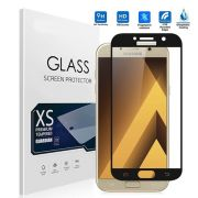 Película vidro com bordas para Samsung Galaxy A3 2017 - Bordas Preta