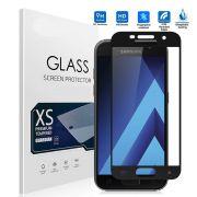 Película vidro com bordas para Samsung Galaxy A7 2017 - Bordas Preta