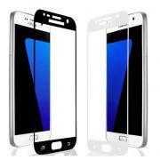 Película vidro com bordas para Samsung Galaxy J7 Prime