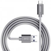 Cabo USB C 3.0 Type C Premium Nylon com Fios de cobre 1m