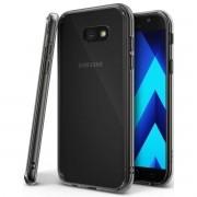 Capa TPU Grafite + Película Silicone/Gel para Samsung Galaxy A7 2017 - Cobre bordas curva