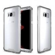Capa Fusion Shell Anti-Impacto para Samsung Galaxy S8 - Cor fumê