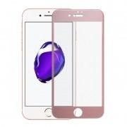Película de vidro Premium com bordas 3D para iPhone 7 Plus (5.5) - Rosa