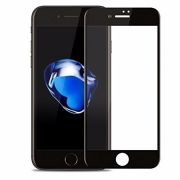 Película Vidro Com Bordas 3d Iphone 8 Plus 5.5 Borda Preta