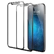 Película De Vidro 3d Apple Iphone X - Borda Preta (cobre Toda A Tela)
