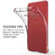2 Capa Anti Impacto + 2 Película Hidrogel flexível 5D Zenfone 4 Selfie ZD553KL-Bordas Preta