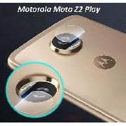 Kit 3 Película De Vidro Câmera Motorola Moto Z2 Play